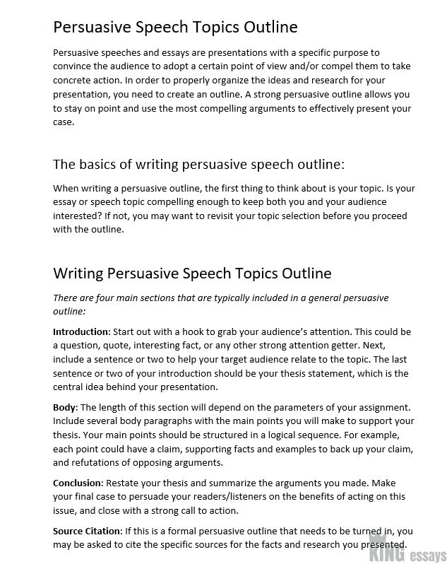 120+ Good Persuasive Speech Topics and Ideas for Students [Updated 2019]