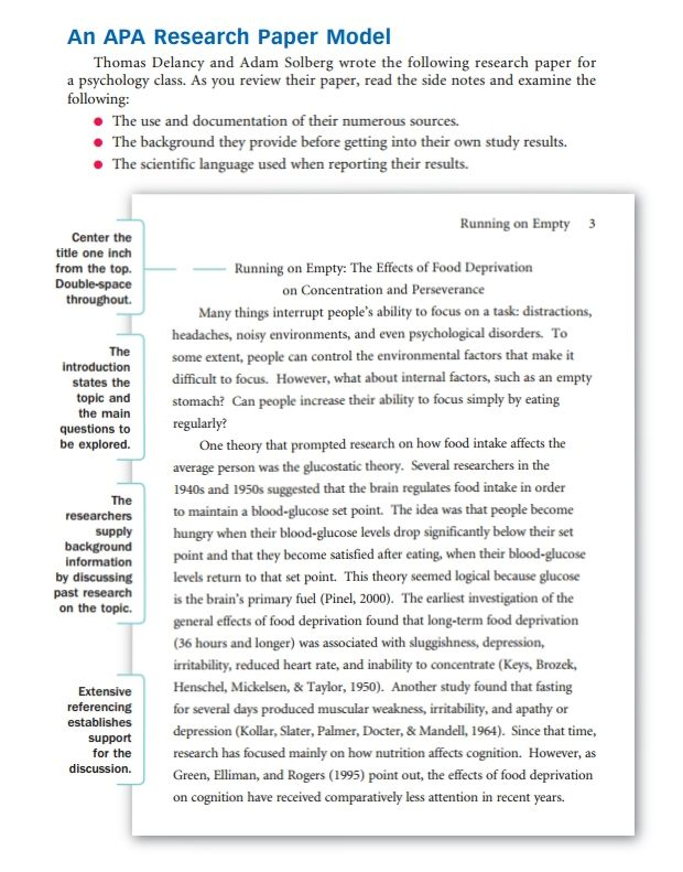 How To Write A Research Paper Outline And Examples At