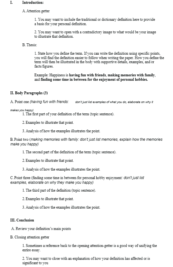 practical tips on how to write a definition essay at kingessays definition essay format