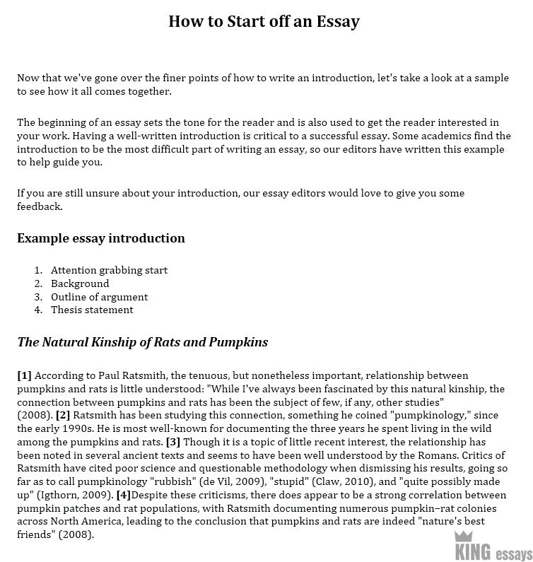 How To Write A Good Essay  Mona Lisa Smile Essay also Essay On Apology How To Start An Essay  A Step By Step Guide By Kingessays Machiavelli Essays