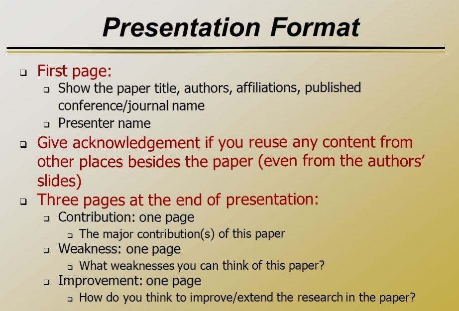 Argument Essay Paper Outline Paper Presentation Template High School Essay Format also Animal Testing Essay Thesis How To Write Speech And Presentation With Example At Kingessays Science Fair Essay