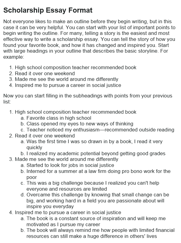 How to write a scholarship essay in 2018 examples at kingessays view sample expocarfo Image collections